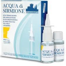 ACQUA DI SIRMIONE  - ACQUA TERMALE SULFUREA - EROGATORE E 6 FLACONCINI