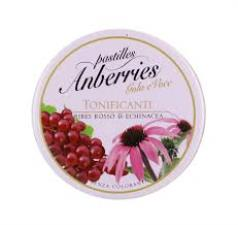 ANBERRIES PASTIGLIE GOLA GUSTO RIBES ROSSO E ECHINACEA - 55 G