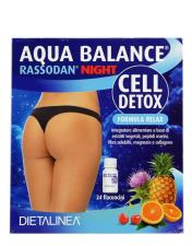 AQUA BALANCE® RASSODAN NIGHT CELL DETOX 24 FLACONCINI DA 10 ML
