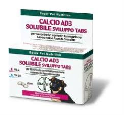 BAYER CALCIO AD3 SOLUBILE 40 COMPRESSE