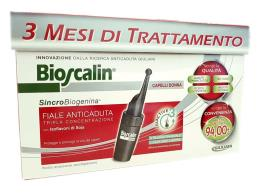 BIOSCALIN TRIACTIVE DONNA - TRATTAMENTO 3 MESI - 30 FIALE DA 3,5 ML