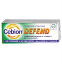 CEBION® DEFEND 12 COMPRESSE EFFERVESCENTI