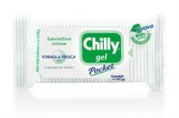 CHILLY® SALVIETTINE GEL FORMULA FRESCA 12 SALVIETTE