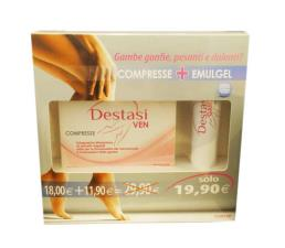 DESTASI VEN KIT 20 COMPRESSE + DESTASI GAMBE EMULGEL 75 ML