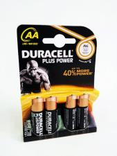 DURACELL PLUS POWER STILO AA - MN1500 - 4 PEZZI