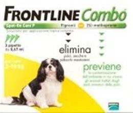 FRONTLINE COMBO SPOT ON CANI PICCOLI 2-10 KG 3 PIPETTE DA 0,67 ML