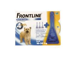 FRONTLINE SPOT ON CANI MEDI 10-20 KG 4 PIPETTE DA 1,34 ML