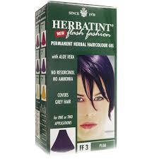 HERBATINT FLASH FASHION TINTA PER CAPELLI FF3 PRUGNA - 135 ML
