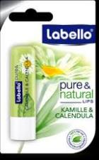 LABELLO PURE AND NATURAL CAMOMILLA E CALENDULA 5,5 ML