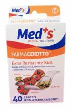 MED'S FARMACEROTTO KIDS 40 CEROTTI ASSORTITI