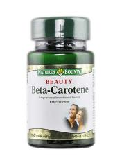 NATURE'S BOUNTY® BEAUTY BETA CAROTENE 100 PERLE SOFTGEL