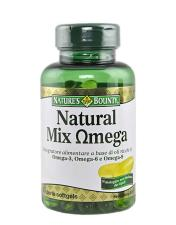 NATURE'S BOUNTY® NATURAL MIX OMEGA 60 PERLE SOFTGEL