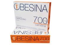 OBESINA 700 MG CARNITINA - PREPARATO AL GUSTO DI CAPPUCCINO - 4 BUSTE DA 26 G