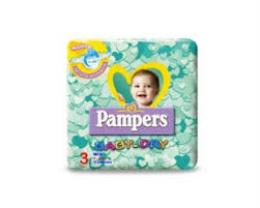 PAMPERS BABY DRY 3 - PANNOLINI MIDI 4-9 KG - 21 PANNOLINI