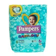 PAMPERS BABY DRY 6 - PANNOLINI EXTRALARGE 15-30 KG - 15 PEZZI