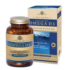 SOLGAR® ADVANCED OMEGA D3 120 PERLE