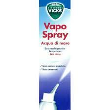 VICKS VAPO SPRAY ACQUA DI MARE SPRAY IPERTONICO - 100 ML